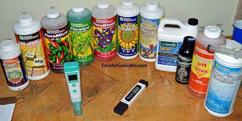 Fertilizers and pH for Growing Cannabis