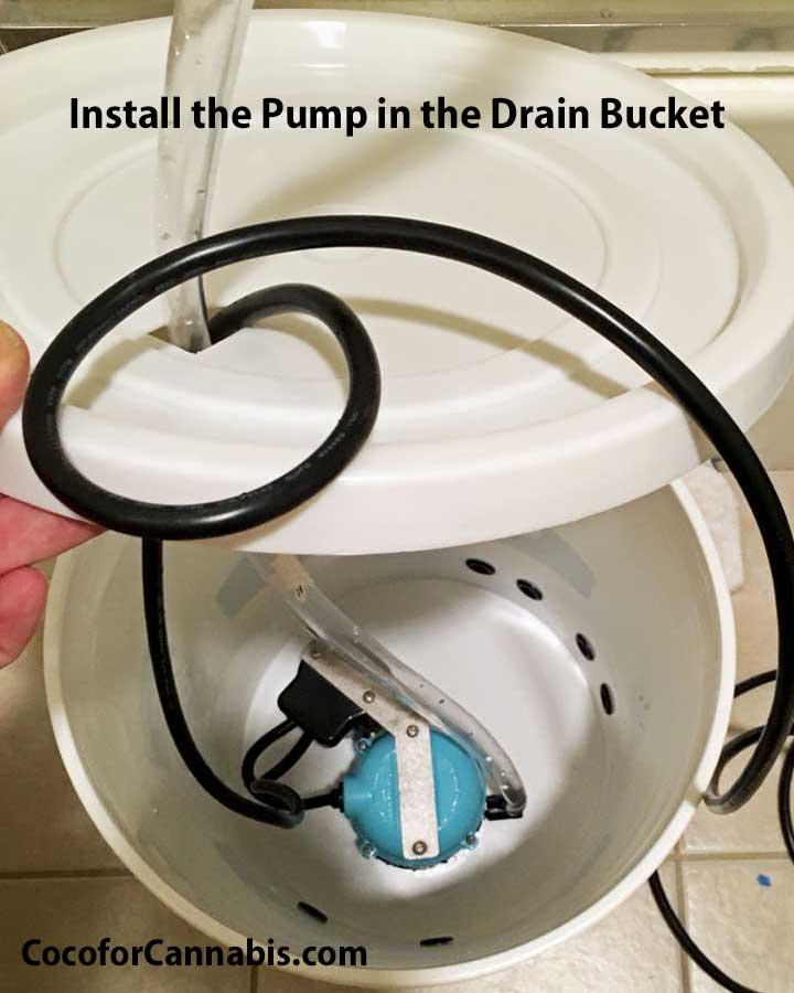 Auto-Pumping Drain Bucket