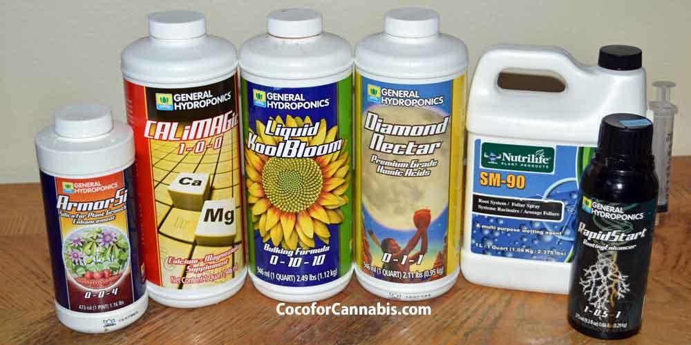 Cannabis Nutrient Supplements