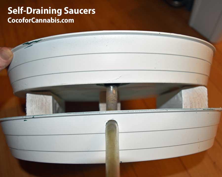 Drain Line for Self Draining Saucer