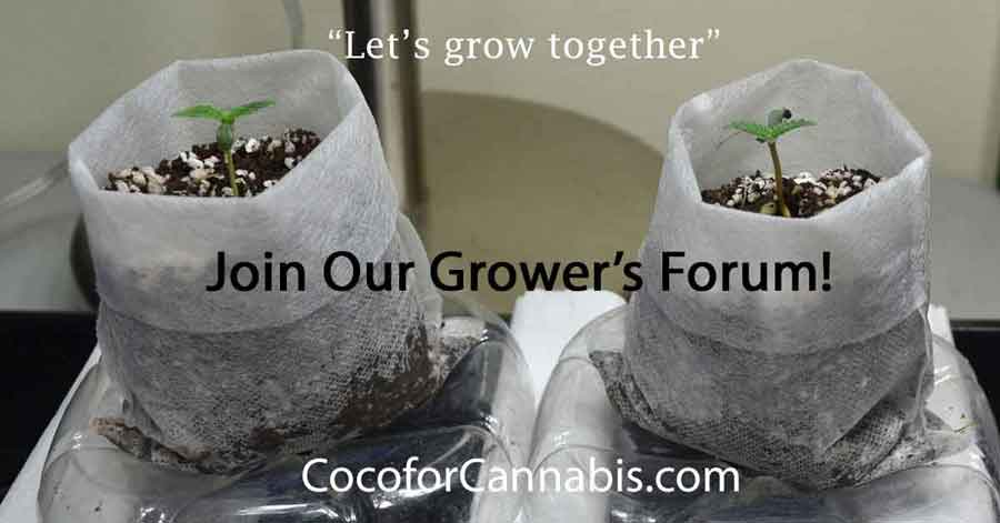 Join Our Grower's Forum