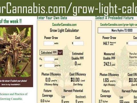 Grow Light Calculator