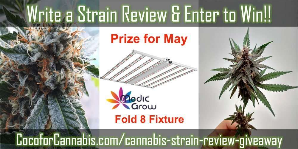 Strain Review Giveaway May